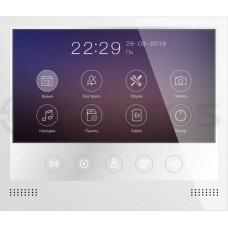 "Selina HD  Монитор видеодомофона 7"" TFT,белый с поддержкой форматов 1080р/720p/CVBS, разрешение 800х480, hands free"