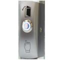 """Кнопка """"Выхода"""" TS-CLICK light накладная металлический корпус с подсветкой"""