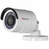 DS-T100 (2,8/3,6/6 mm) 1Мп уличная цилиндрическая HD-TVI камера с ИК-подсветкой до 20м.