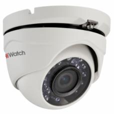DS-T103 (2.8/3,6/6 mm) 1Мп уличная купольная HD-TVI камера с ИК-подсветкой до 20м.
