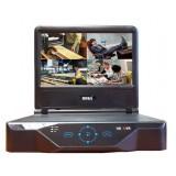 "R-HDVR-LCD0401 (2Мп)  LCD-экран 10"" 4-канальный Гибридный видеорегистратор (Analog/AHD/IP/TVI)"