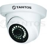 TSc-EB720pHDf (3.6) Камера купольная антивандальная универсальная 1Мп 4в1 (AHD, TVI, CVI, CVBS) 720p