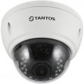 TSc-Vi1080pUVCv (2.8-12) Антивандальная купольная универсальная видеокамера 4в1 (AHD, TVI, CVI, CVBS)