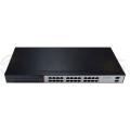 TSn-24G26 n 24-портовый гигабитный  коммутатор, 24 портов 10/100/1000 Мбит/с RJ45+2SFP